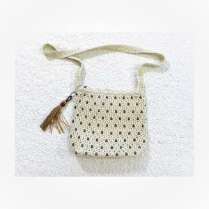 The Sak woven beaded crossbody bag
